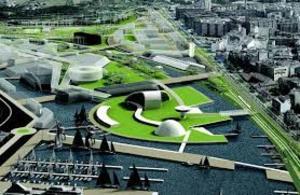 Ría de Avilés. Centro Niemeyer